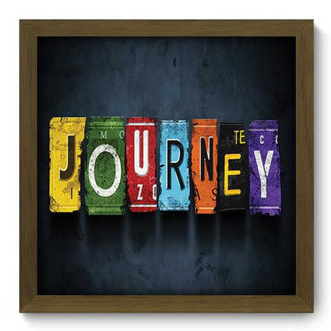 Quadro Decorativo - Journey - 089qdrm