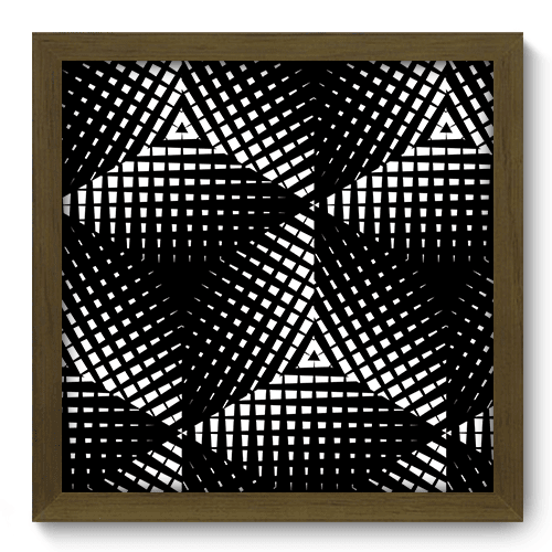 Quadro Decorativo - Abstrato - 092qdam