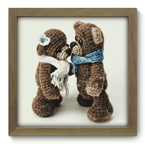 Quadro Decorativo - Teddy Bear - 095qdbm