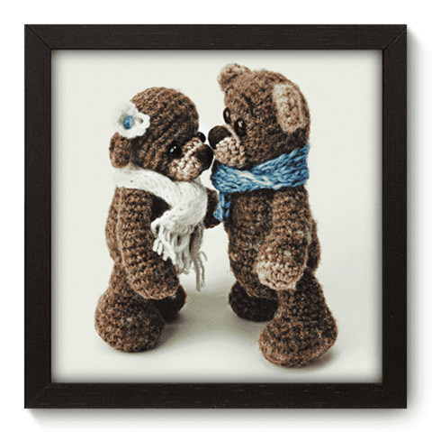 Quadro Decorativo - Teddy Bear - 095qdbp