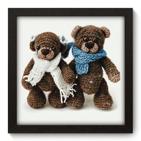 Quadro Decorativo - Teddy Bear - 097qdbp