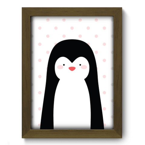 Quadro Decorativo - Pinguim - 097qdim