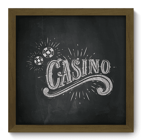Quadro Decorativo - Casino - 116qddm