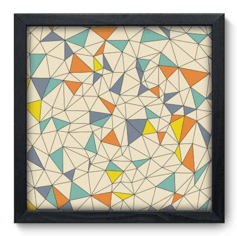 Quadro Decorativo - Abstrato - 123qdap