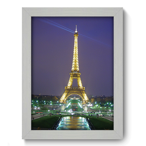 Quadro Decorativo - Paris - 132qdmb