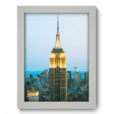 Quadro Decorativo - Empire State - 135qdmb