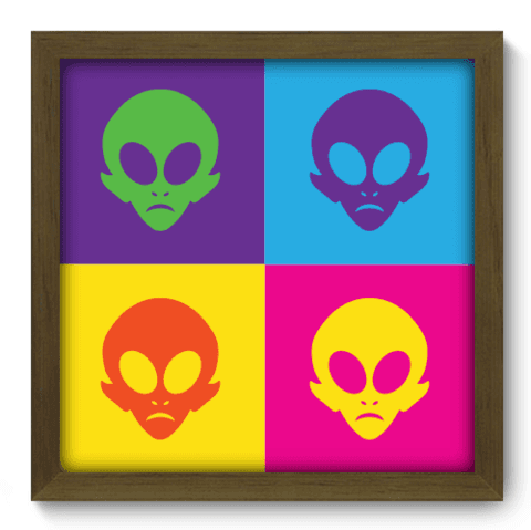 Quadro Decorativo - Alien - 137qdvm
