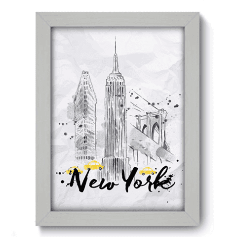 Quadro Decorativo - New York - 139qdmb