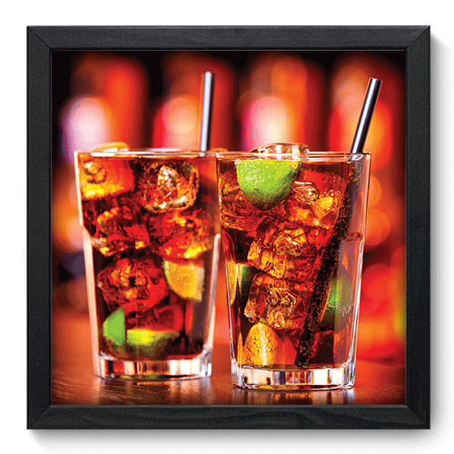 Quadro Decorativo - Drink - 141qdcp