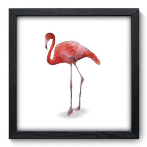 Quadro Decorativo - Flamingo - 145qdsp