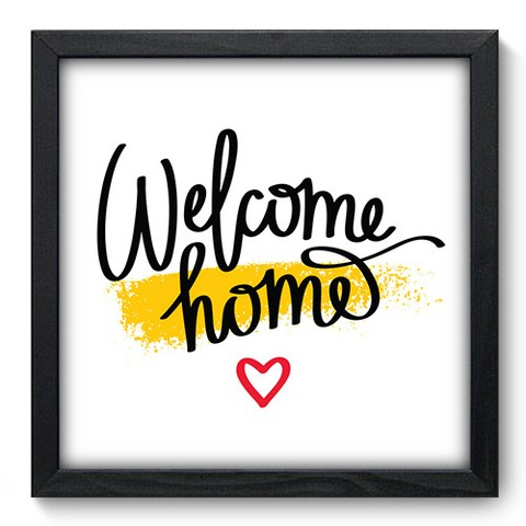 Quadro Decorativo - Welcome - 154qdrp