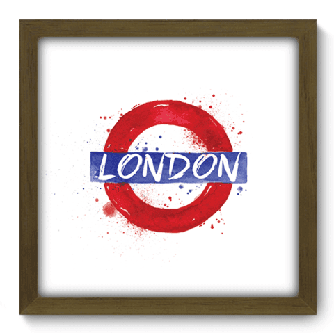 Quadro Decorativo - Londres - 160qdmm