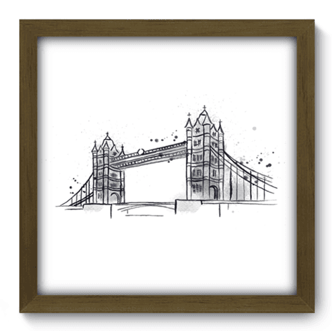 Quadro Decorativo - Londres - 161qdmm