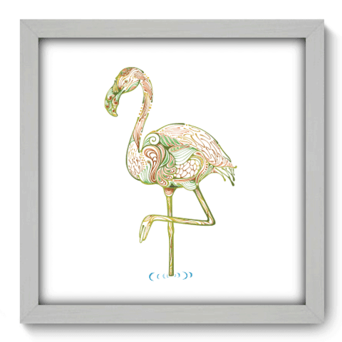 Quadro Decorativo - Flamingo - 161qdsb