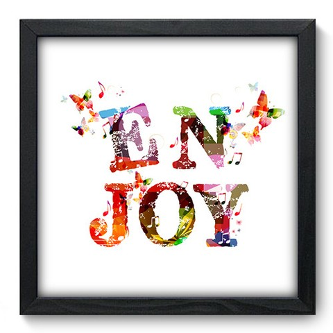 Quadro Decorativo - Enjoy - 168qdrp