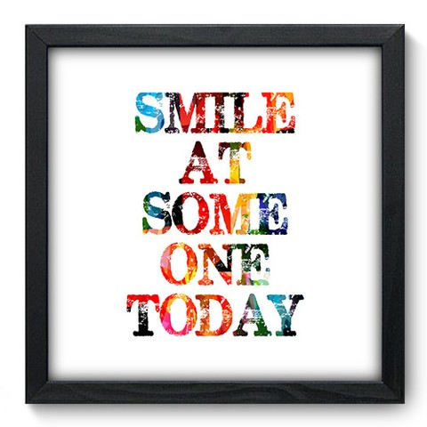 Quadro Decorativo - Smile - 169qdrp