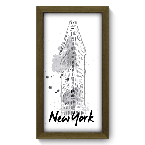 Quadro Decorativo - New York - 170qdmm