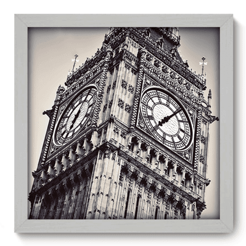 Quadro Decorativo - Big Ben - 177qdmb