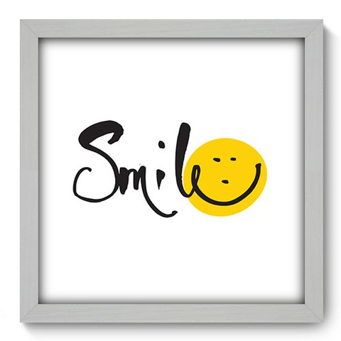 Quadro Decorativo - Smile - 177qdrb