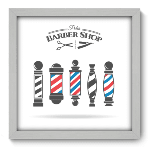 Quadro Decorativo - Barbearia - 178qddb