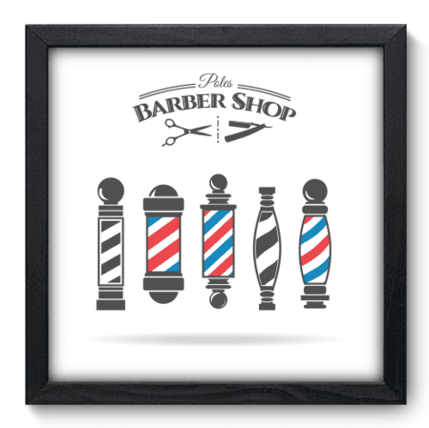 Quadro Decorativo - Barbearia - 178qddp