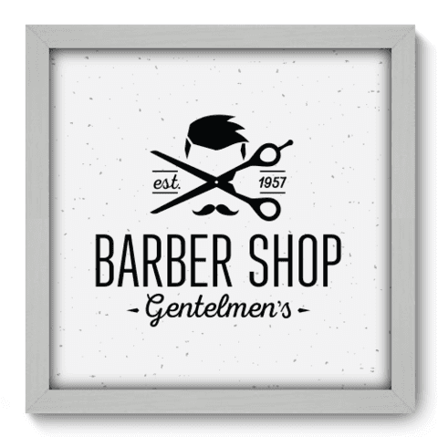 Quadro Decorativo - Barbearia - 179qddb
