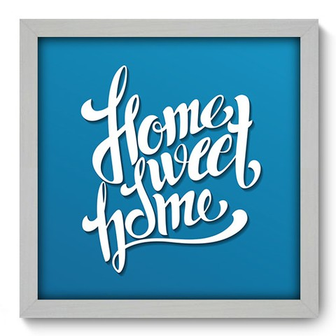 Quadro Decorativo - Home Sweet Home - 181qdrb