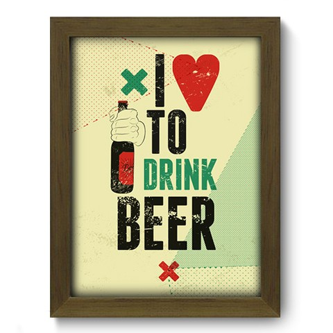 Quadro Decorativo - Beer - 182qdvm