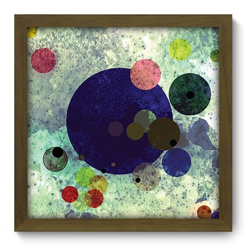 Quadro Decorativo - Abstrato - 186qdam