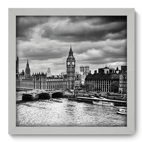 Quadro Decorativo - Londres - 186qdmb