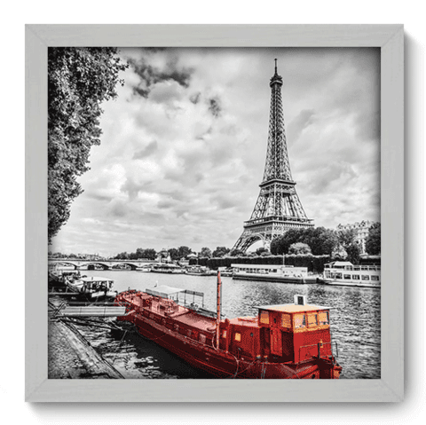 Quadro Decorativo - Paris - 187qdmb