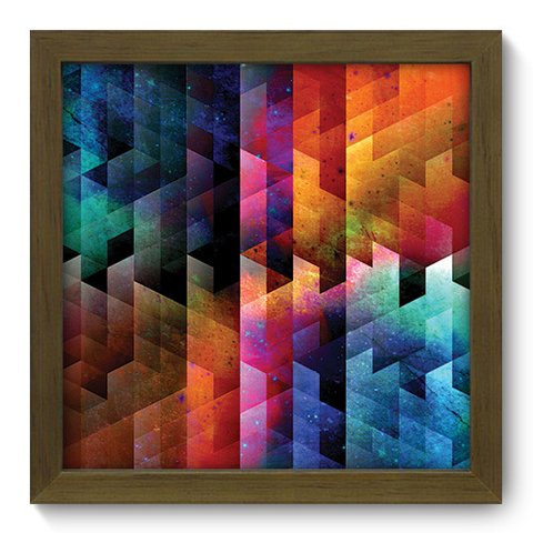 Quadro Decorativo - Abstrato - 188qdam
