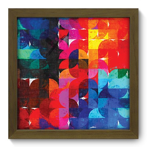 Quadro Decorativo - Abstrato - 189qdam