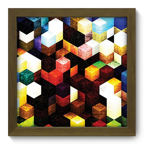 Quadro Decorativo - Abstrato - 191qdam