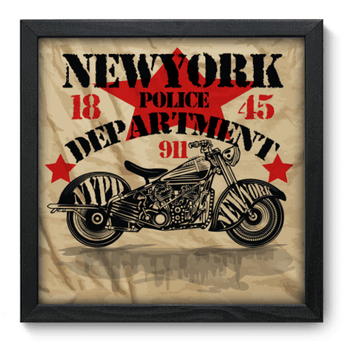 Quadro Decorativo - Motorcycle - 191qddp