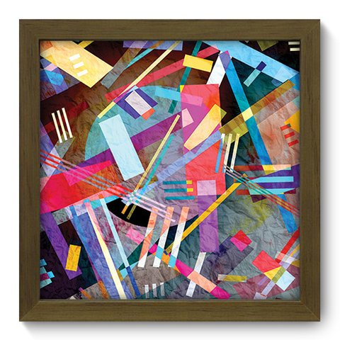 Quadro Decorativo - Abstrato - 193qdam