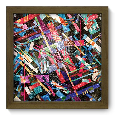 Quadro Decorativo - Abstrato - 194qdam