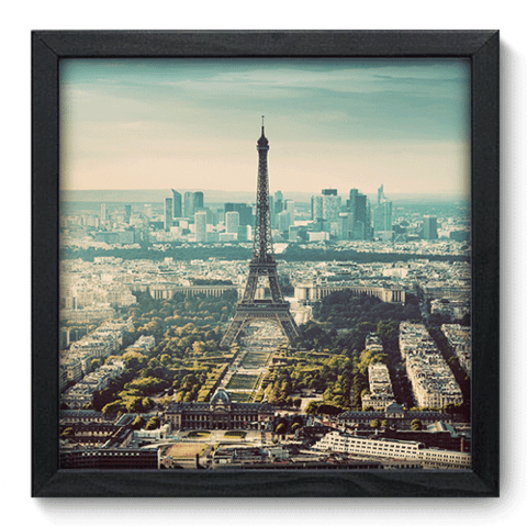 Quadro Decorativo - Paris - 196qdmp