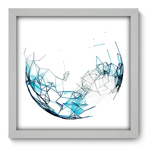 Quadro Decorativo - Abstrato - 207qdab
