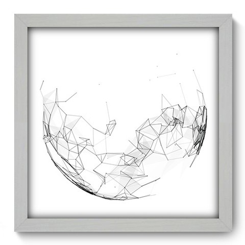 Quadro Decorativo - Abstrato - 208qdab