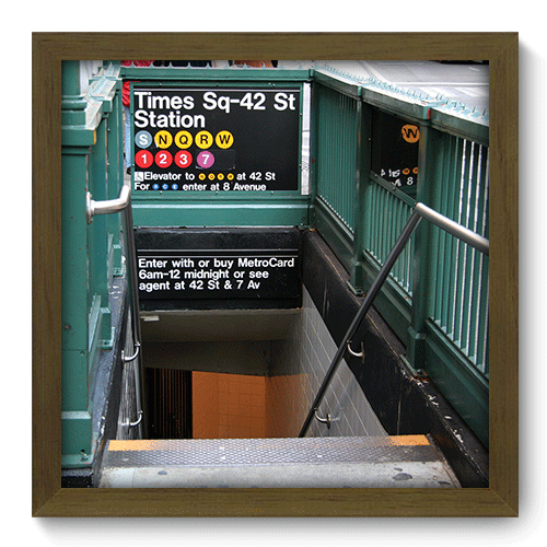 Quadro Decorativo - New York - 211qdmm