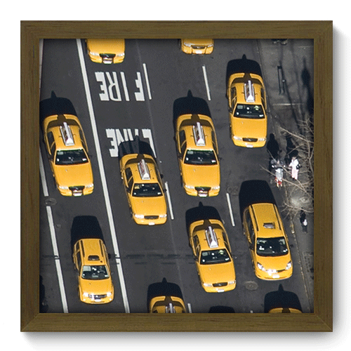 Quadro Decorativo - New York - 213qdmm
