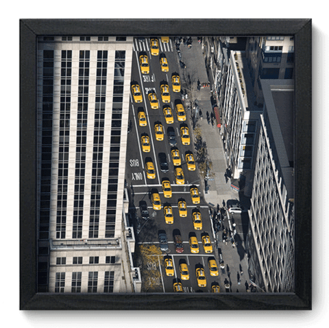 Quadro Decorativo - New York - 214qdmp