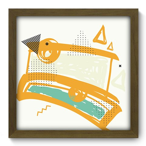 Quadro Decorativo - Abstrato - 238qdam