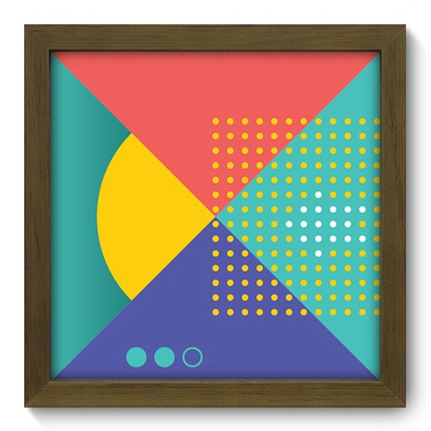 Quadro Decorativo - Abstrato - 239qdam