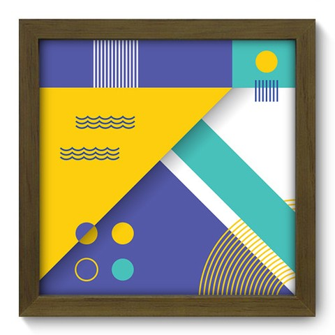 Quadro Decorativo - Abstrato - 240qdam