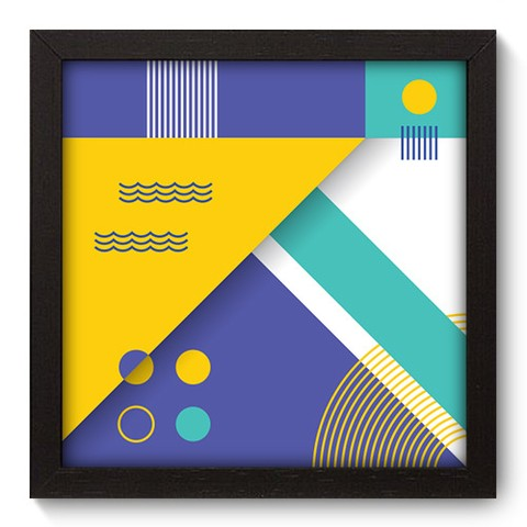 Quadro Decorativo - Abstrato - 240qdap