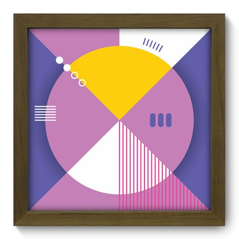 Quadro Decorativo - Abstrato - 241qdam