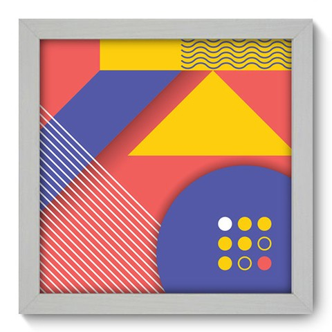 Quadro Decorativo - Abstrato - 242qdab
