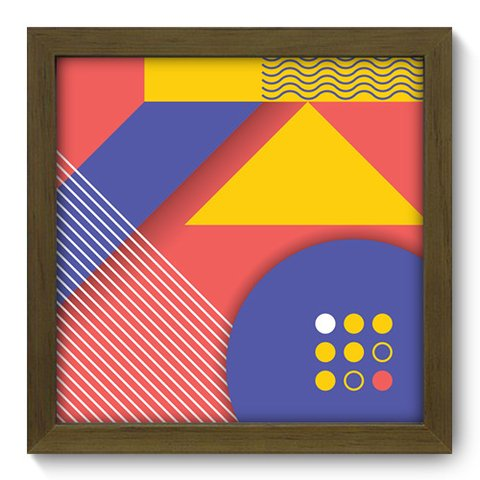 Quadro Decorativo - Abstrato - 242qdam